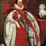 James I of England, by Daniel Mytens