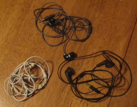 One Thing Gone: Earbuds