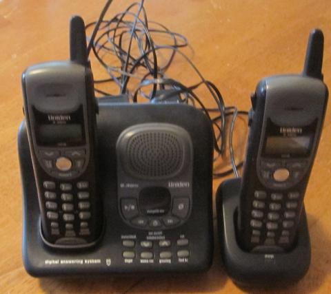 One Thing Gone: Cordless Uniden phones