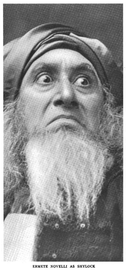 Ermete Novelli as Shylock