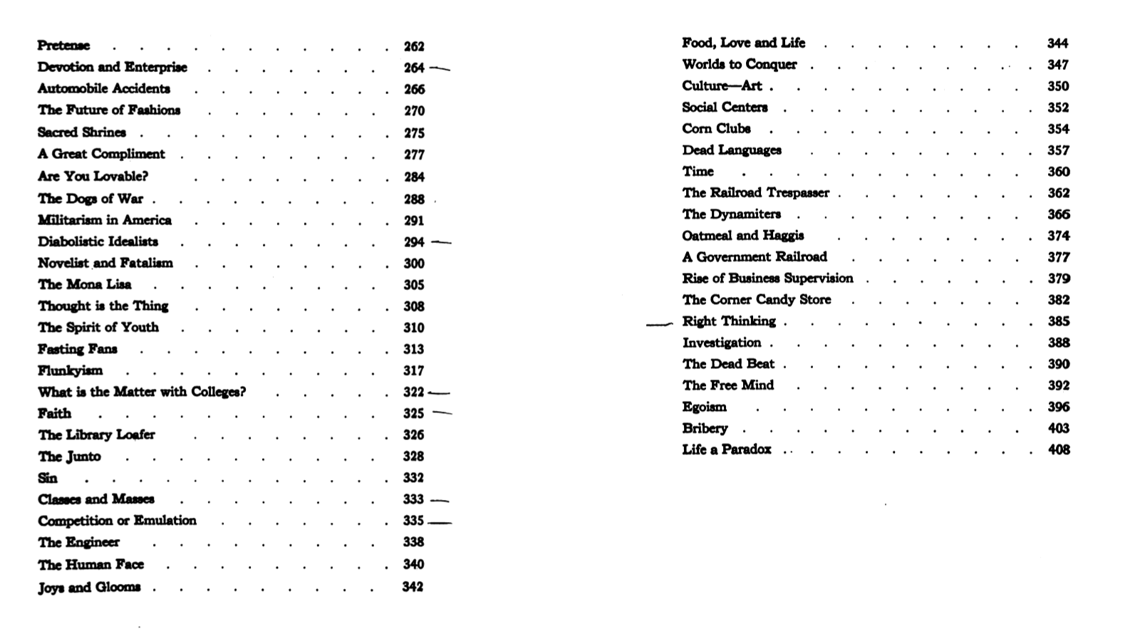 life is a paradox benjamin de casseres two pages from the table of contents for philistia vol 9 of selected writings