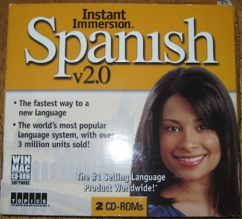 One Thing Gone: Instant Immersion Spanish 2.0