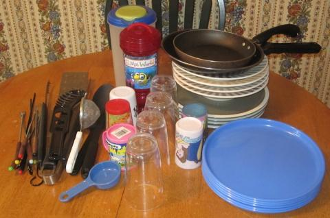 One Thing Gone: Various Kitchen Items