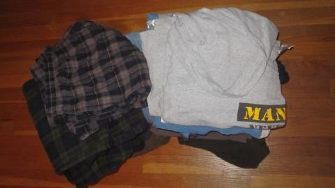 One Thing Gone: Pile of Clothes