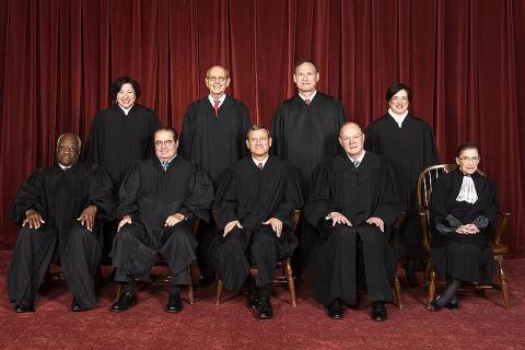 Supreme Court mug shot