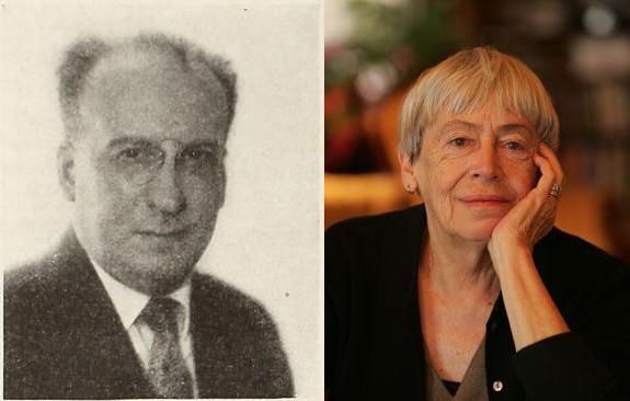 Ursula K. Le Guin and Benjamin De Casseres