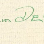 Benjamin De Casseres signature found in Spinoza: Liberator of God and Man