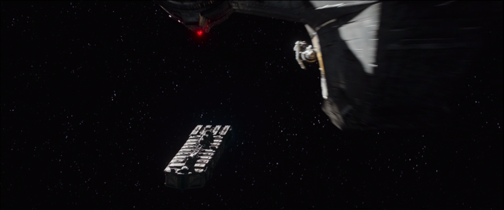 The Mandalorian: Prison ship in deep space